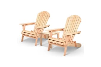 Outdoor Chairs Table Set Patio Furniture Beach Chair Lounge Adirondack