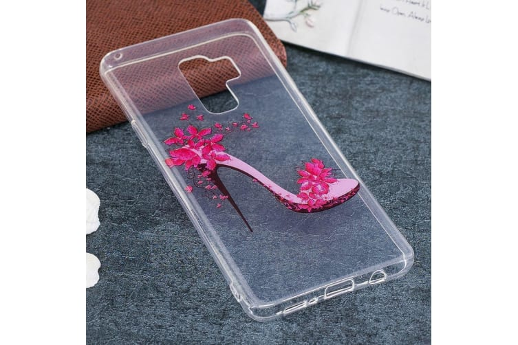 For Samsung Galaxy S9 PLUS Back Case High-heeled Shoe Durable Protective Cover