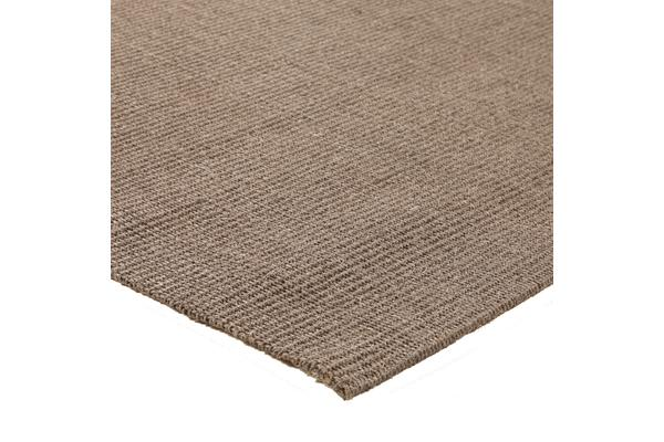 Natural Sisal Rug Boucle Grey 220x150cm