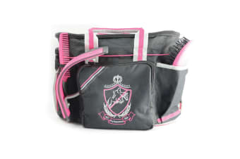 HySHINE Complete Pro Grooming Bag (Black/Pink/Grey) (One Size)