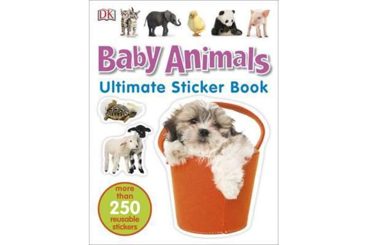 Baby Animals Ultimate Sticker Book