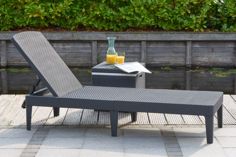 Keter Jaipur Outdoor Sun Lounger