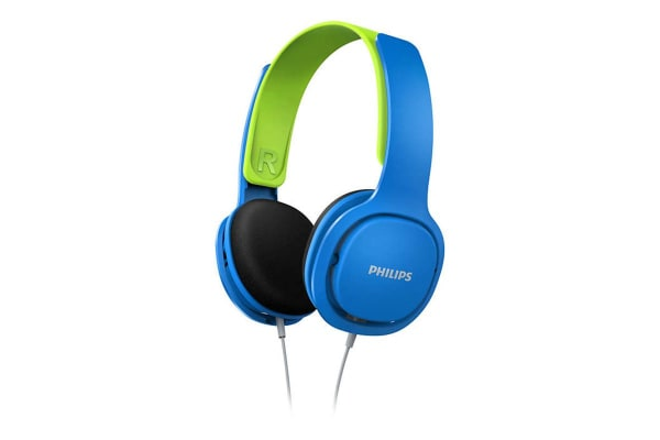Philips Over Ear Kids Headphones - Blue (SHK2000BL)