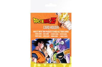 Dragon Ball Z Official Travel Card Wallet (Multicoloured) (One Size)