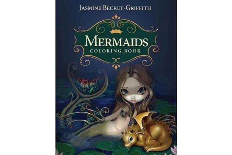 Mermaids Coloring Book - An Aquatic Art Adventure