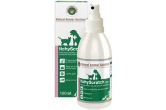 NAS Itchy Scratch Spray for Dogs, Cats & Horses (100ml) Hot Spot Spray for Pets