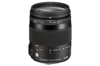 New Sigma 18-200mm F3.5-6.3 DC MACRO OS HSM Lens C Nikon (FREE DELIVERY + 1 YEAR AU WARRANTY)