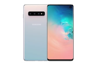 Samsung Galaxy S10 (128GB, Prism White)
