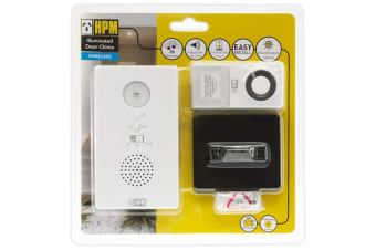 Battery Wireless Door Chime With LED Flashing Indicator