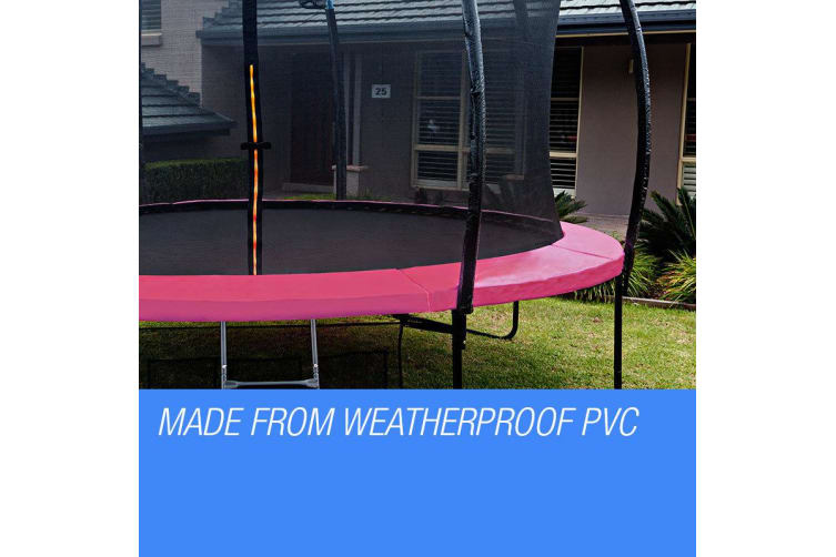 UP-SHOT 16ft Replacement Trampoline Pad Reinforced Springs Outdoor Safety Round