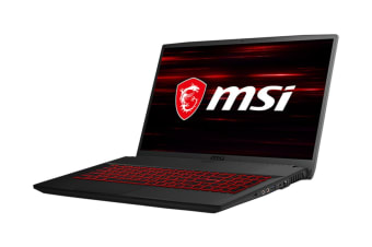 "MSI GF75 Thin 9RCX 17.3"" Core i5-9300H 8GB RAM 512GB SSD GTX1050Ti W10H Gaming Laptop"