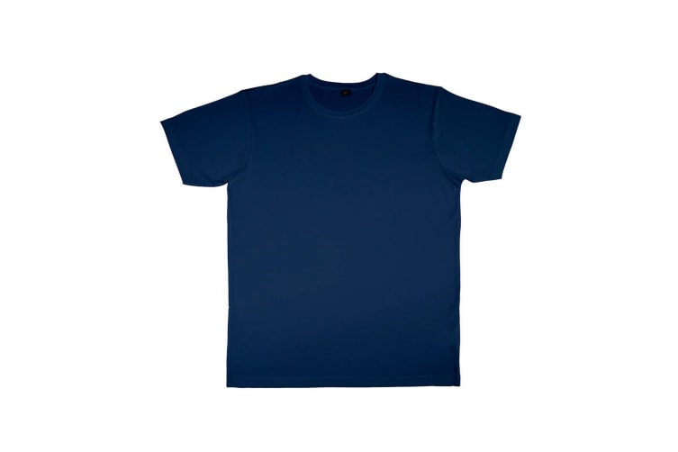Nakedshirt Mens Jack Short Sleeve T-Shirt (Navy Blue) (2XL)