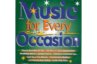 Music for Every Occasion BRAND NEW SEALED MUSIC ALBUM CD - AU STOCK