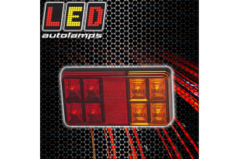 1 X LED TRAILER LIGHT COMBINATION  STOP TAIL INDICATOR SUBMERSIBLE BAR151 NEW
