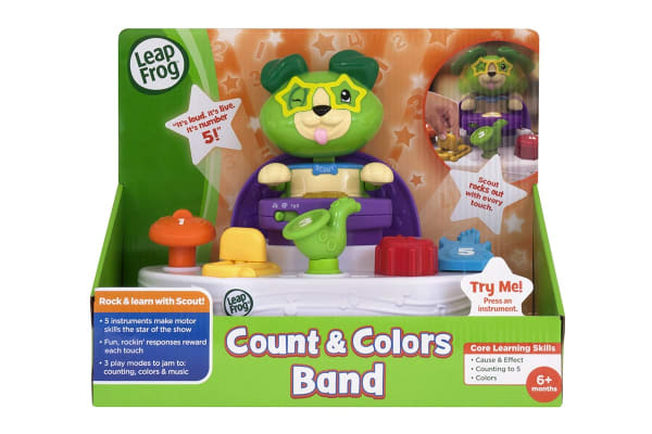 Leapfrog Scouts Count and Colours Band