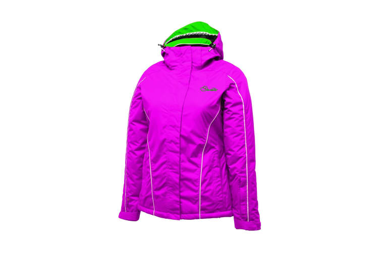 Dare 2B Womens/Ladies Downscale Waterproof Jacket (Electric Pink) (10)