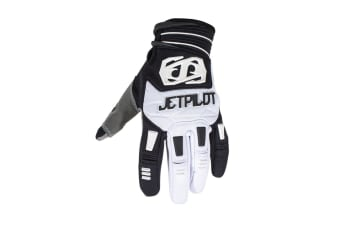 JetPilot Matrix Race Watersport Gloves - Black/White - X-Large