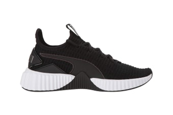 PUMA Women's Defy Shoe (Black, Size 7.5)