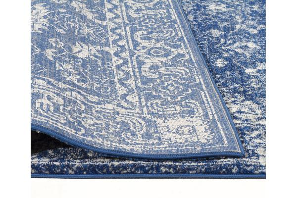 Oasis Navy Transitional Rug 300x80cm