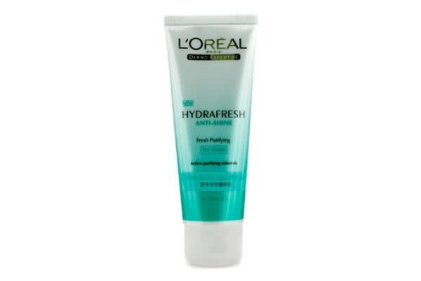 L'Oreal Dermo-Expertise Hydrafresh Anti-Shine Fresh Purifying Icy Foam (For Shiny Skin) (100ml/3.3oz)