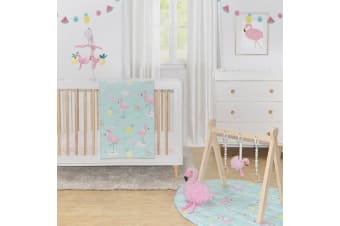 Lolli Living 4 Piece Nursery Set Flamingo