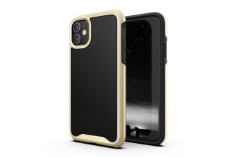 VERTECH Heavy Duty Shockproof Slim Clear Cover For iPhone 11 Pro-Gold