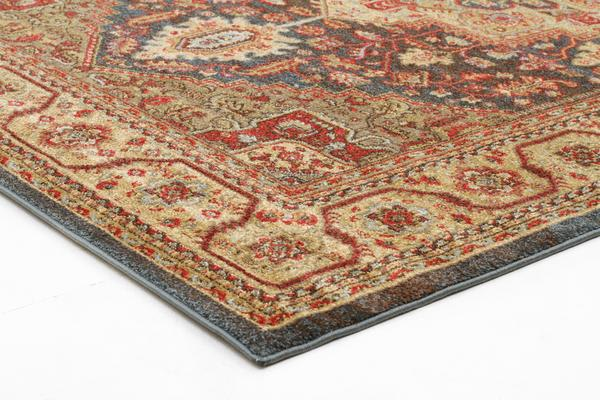 Antique Heriz Design Rug Multi 330x240cm