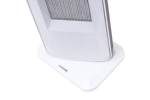 Goldair 2000W Ceramic Tower Fan Heater with Oscillation & 2 Heat Settings (GCT225)