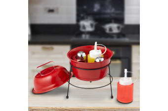Mini BBQ Condiment & Salt `n` Pepper Caddy | Looks Like A Mini BBQ!