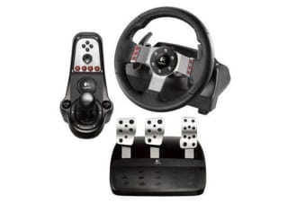 LOGITECH G27 Racing Wheel and Pedals (wheel console pedals and shifter module) with Dual-motor force
