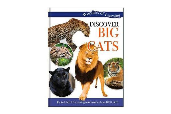 Wonders of Learning: Discover Big Cats - Wonders Of Learning Omnibus
