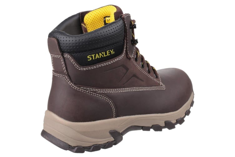 Stanley Mens Tradesman Lace Up Penetration Resistant Safety Boots (Brown) (8 UK)