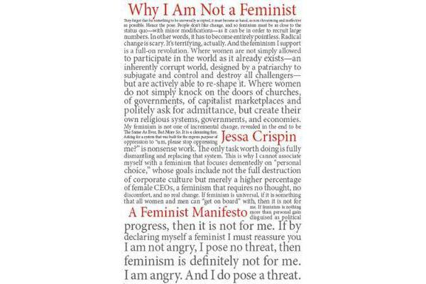 Why I Am Not a Feminist - A Feminist Manifesto