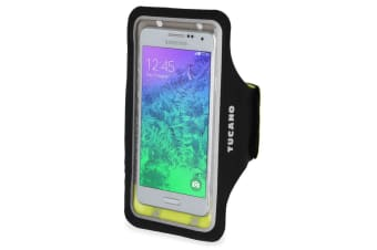 """Tucano Sporty Universal Arm Band Smartphone Case Up to 5"""" - Black"""