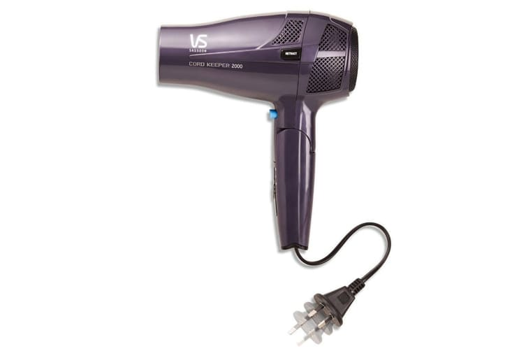 VS Sassoon VS289A 2000W Hair Dryer Travel/Portable/Foldable Ceramic/Ionic