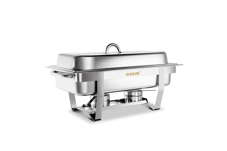 Upgraded 9L Stainless Steel Chafing Dish Buffet Chafer Pan