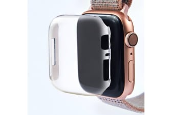 Protective Case Cover - For Apple Watch Iwatch Series 4 Thin Pc Transparent Shell White 44Mm
