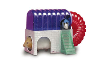 Superpet Critter Cyber Pet Cage House (Multicoloured) (One Size)