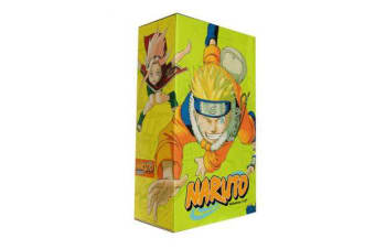 Naruto Box Set 1 - Volumes 1-27 with Premium