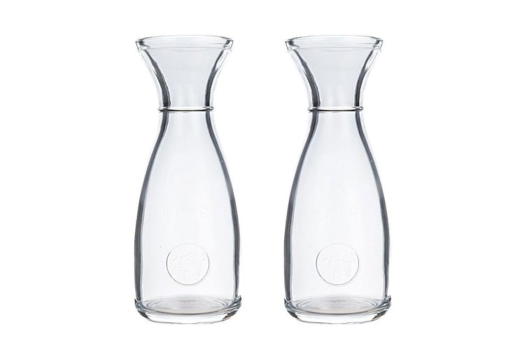 2PK Maxwell Williams 500ml Wine Bar Carafe Decanter Pitcher Water Glass Bottle