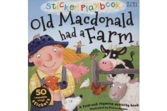 Sticker Playbook Old Macdonald Had a Farm