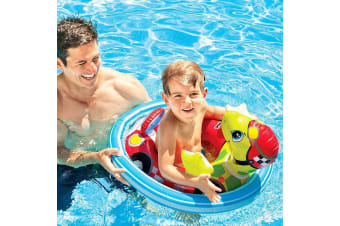 Intex See Me Sit Riders Turtle Pool Inflatable