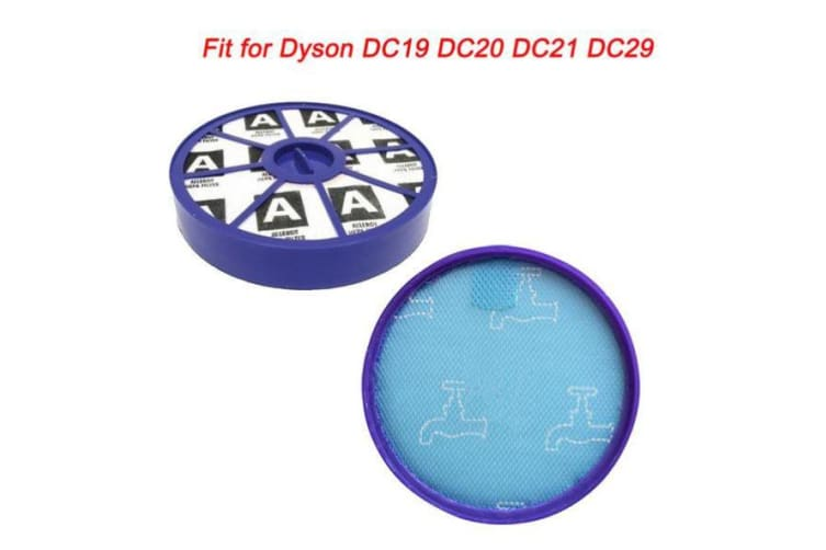 Pre Post Motor HEPA Washable Replacement Filter Kit for dyson DC19 DC20 DC21 DC29 vacuum