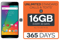 Kogan Agora 6 Plus (32GB) + Kogan Mobile Prepaid Voucher Code: EXTRA LARGE (365 Days | 16GB Per 30 Days)