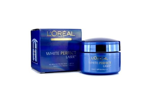 L'Oreal Dermo-Expertise White Perfect Laser All-Round Protection Whitening Cream SPF19 PA+++ (50ml/1.7oz)