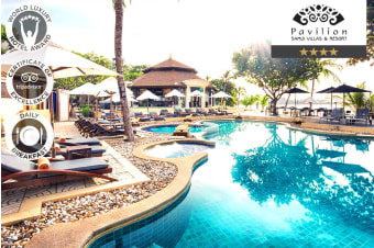 KOH SAMUI: 7 Nights at Pavilion Samui Villas & Resort for Two