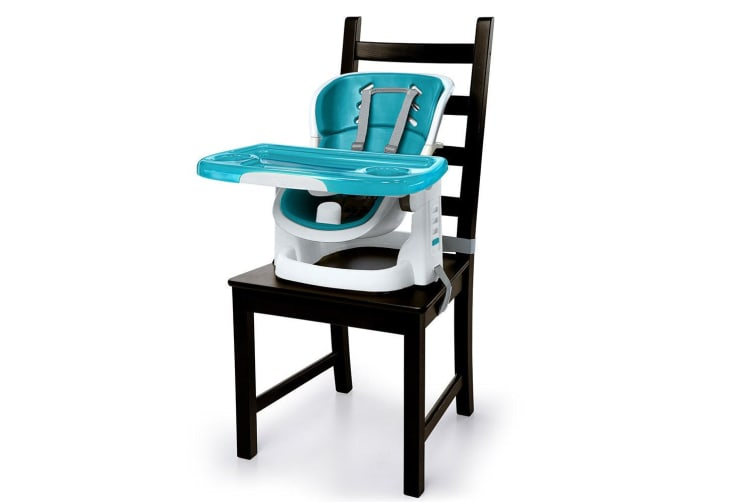 Ingenuity SmartClean Baby/Toddler High/Reclining/Booster Chair/Seat 6m+ - Blue