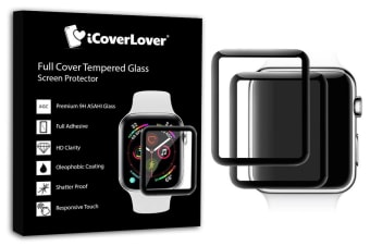 For Apple Watch 42mm 3D Full Screen Tempered Glass Screen Protector iCoverLover