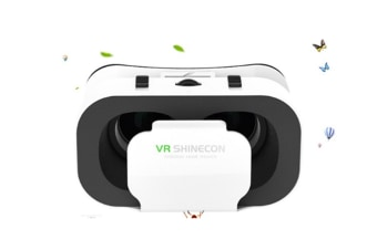 Select Mall Deep Immersive Virtual Reality Experience on 3D Movies Games Mini Compact Light Weight Comfortable Phone VR Viewer