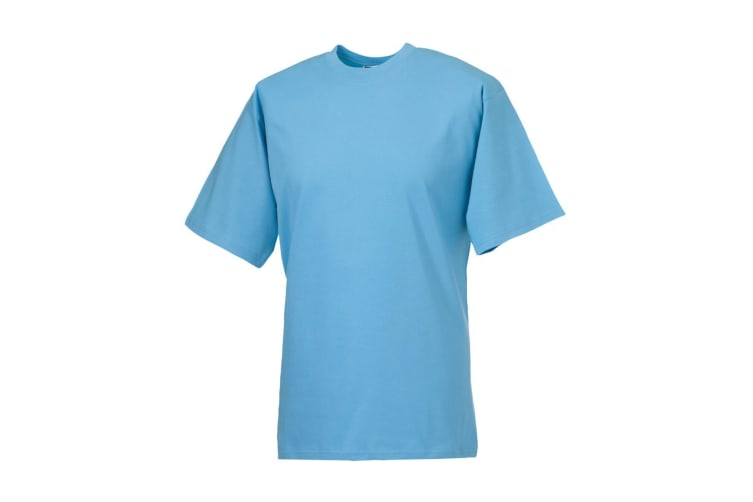 Jerzees Colours Mens Classic Short Sleeve T-Shirt (Sky Blue) (S)